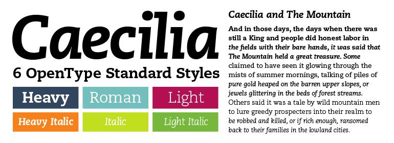 1191637 - Dnes zľava 75% na písmo Caecilia