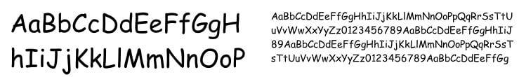 comic sans - Nenávidené písmo – Comic Sans