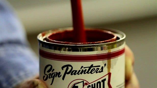 Ručné maľované – nový dokument o Sign Painters