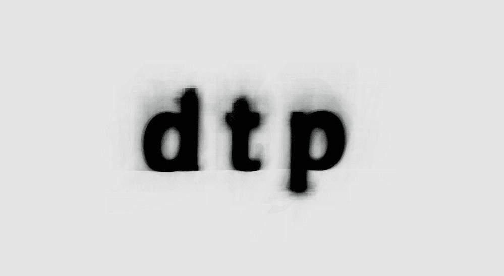 dtp - Jeden priemerný font