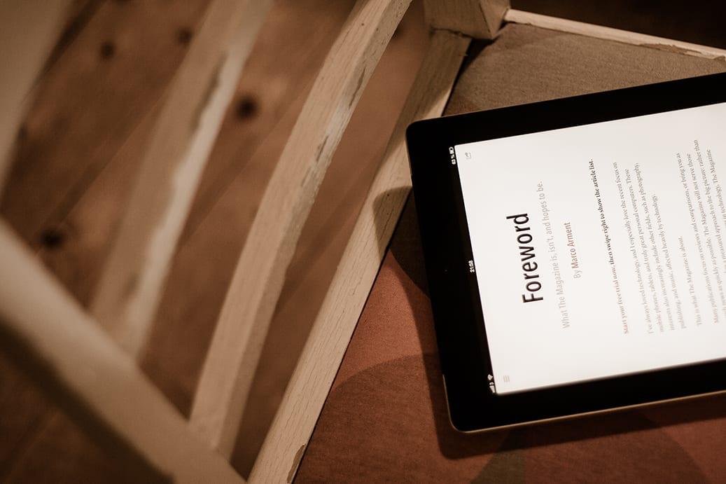 ipad publishing - Ako dostať obsah na iPad
