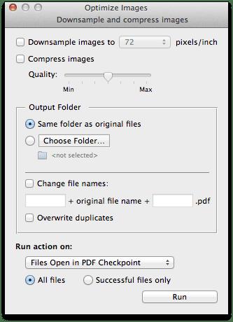 optimize - PDF Checkpoint – kontrola PDF súborov