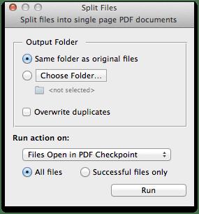 split - PDF Checkpoint – kontrola PDF súborov