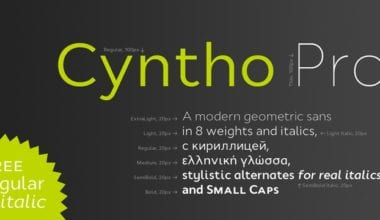107852 380x220 - Font dňa – Cyntho Pro (zľava 50%)