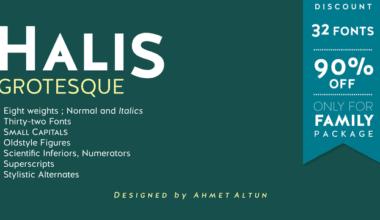 127683 380x220 - Font dňa – Halis Grotesque (zľava 90%, rodina 15,70€)