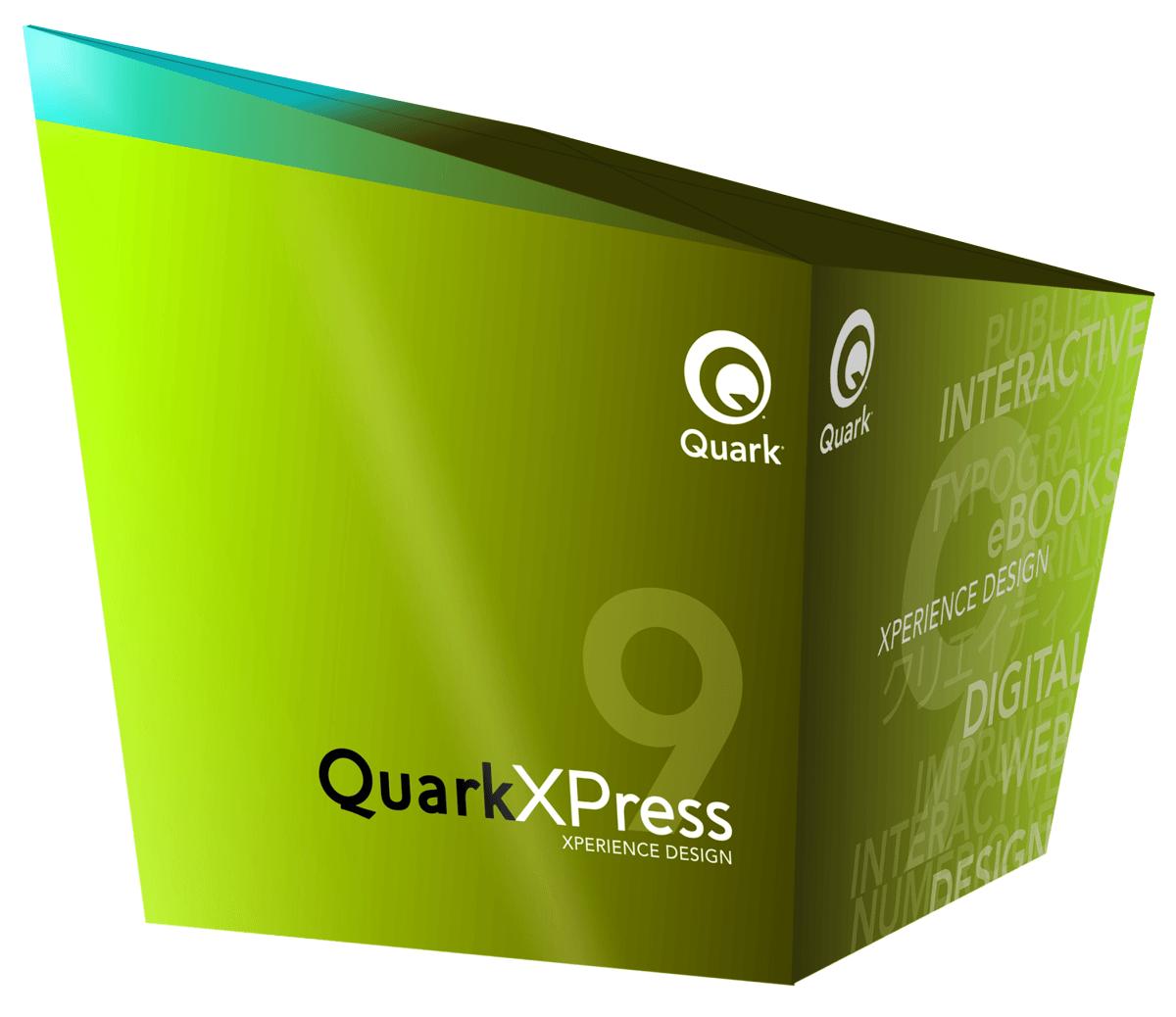 QXP9 BoxShot NoReflect OnWhite 011711 - QuarkXPress 9 – upgrade zo všetkých verzií