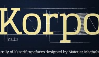 107332 380x220 - Font dňa – Korpo Serif