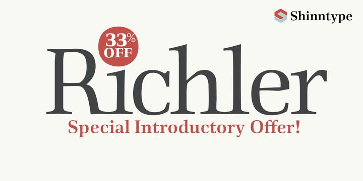 113027 - Font dňa – Richler (zľava 33%)