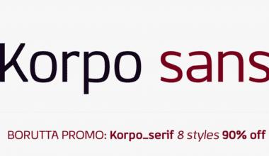 114251 380x220 - Font dňa – Korpo Sans (zľava 90%, od 2,90$)