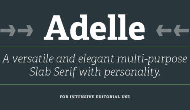 51849 380x220 - Font dňa – Adelle