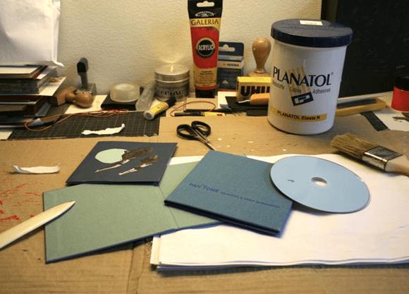 55l2mg - Inšpirácia: ručne vyhotovené obaly na CD