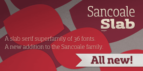 86108 580x290 - Font dňa – Sancoale Slab
