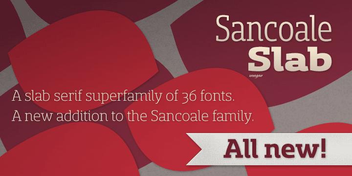 86108 - Font dňa – Sancoale Slab