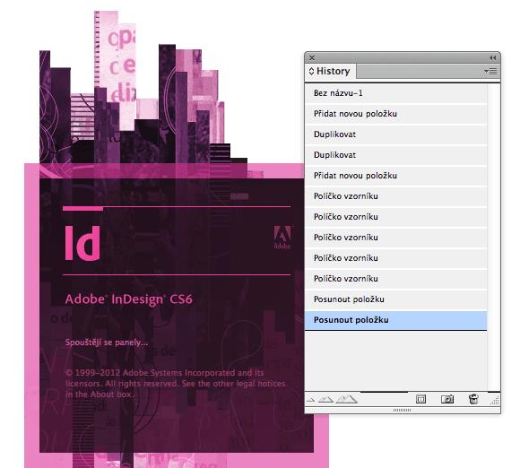 history indesign - História pre Adobe InDesign