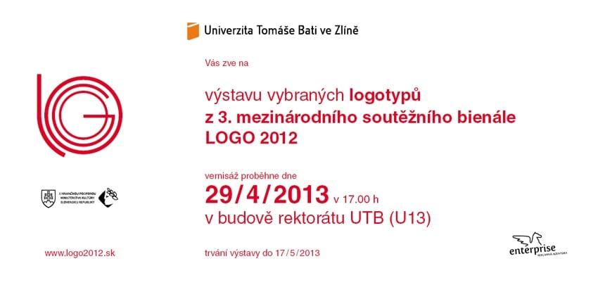 logo pozvanka 2013 zlin - Výstava logotypů