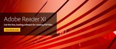 marquee reader xi 709x300 380x161 - Korektúry v Adobe Reader