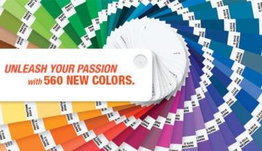 pantone 380x220 - Zľava na nákup vzorníkov farieb PANTONE