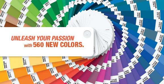 pantone - Zľava na nákup vzorníkov farieb PANTONE