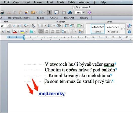 word pic1 - Oh my Word alebo ako pripraviť texty vo Worde korektne
