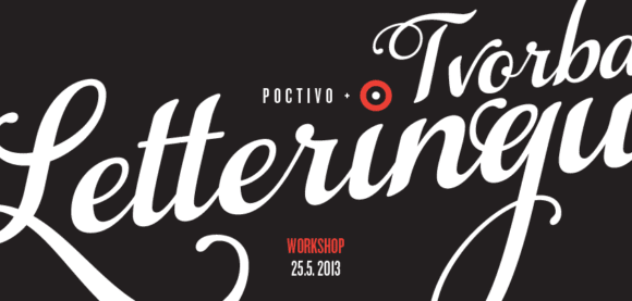 workshop tvorby letteringu2 580x277 - Workshop tvorby letteringu vypredaný