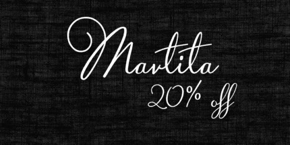 103476 580x290 - Font dňa – Martita