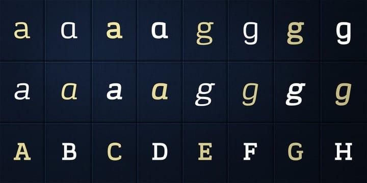 107327 - Font dňa – Korpo Serif (zľava 80%, od 5$)