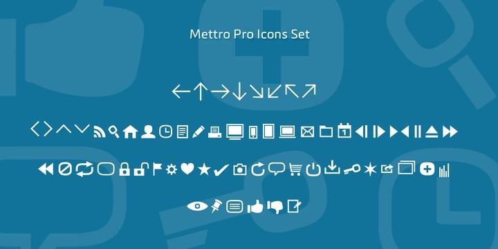 114109 - Font dňa – Mettro Pro (zľava 70%)