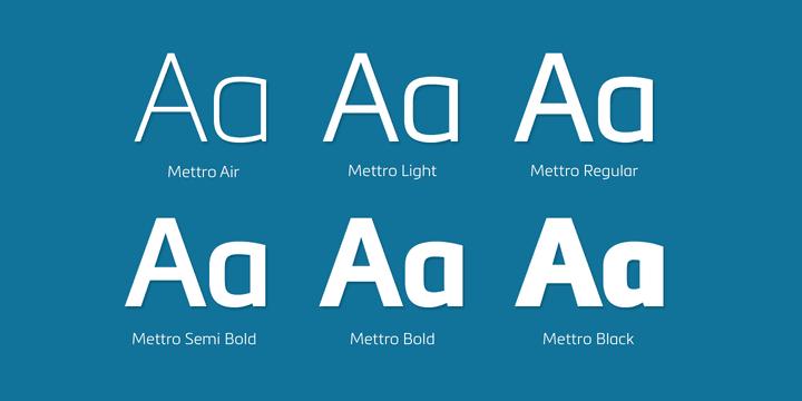 114115 - Font dňa – Mettro Pro (zľava 70%)