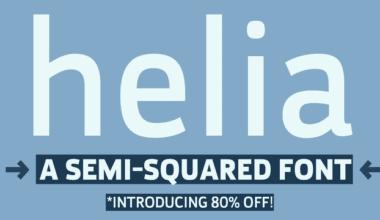 115768 380x220 - Font dňa – Helia (zľava 80%, od 7$)