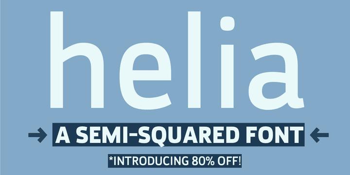 115768 - Font dňa – Helia (zľava 80%, od 7$)