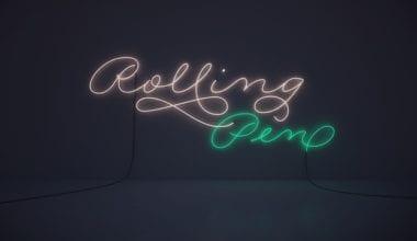 116984 380x220 - Font dňa – Rolling Pen (zľava 30%, od 13,30$)