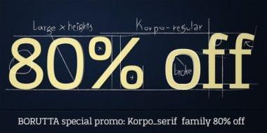 117020 380x190 - Font dňa – Korpo Serif (zľava 80%, od 5$)