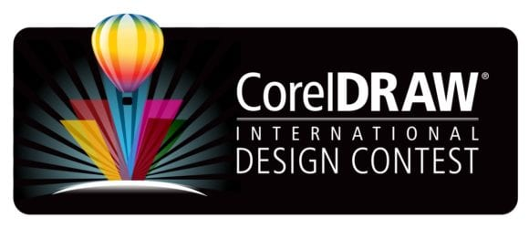 4111.CorelDRAW Contest logo black hrz 580x262 - Corel vyhlásili súťaž s cenami v celkovej hodnote 100 000 dolárov