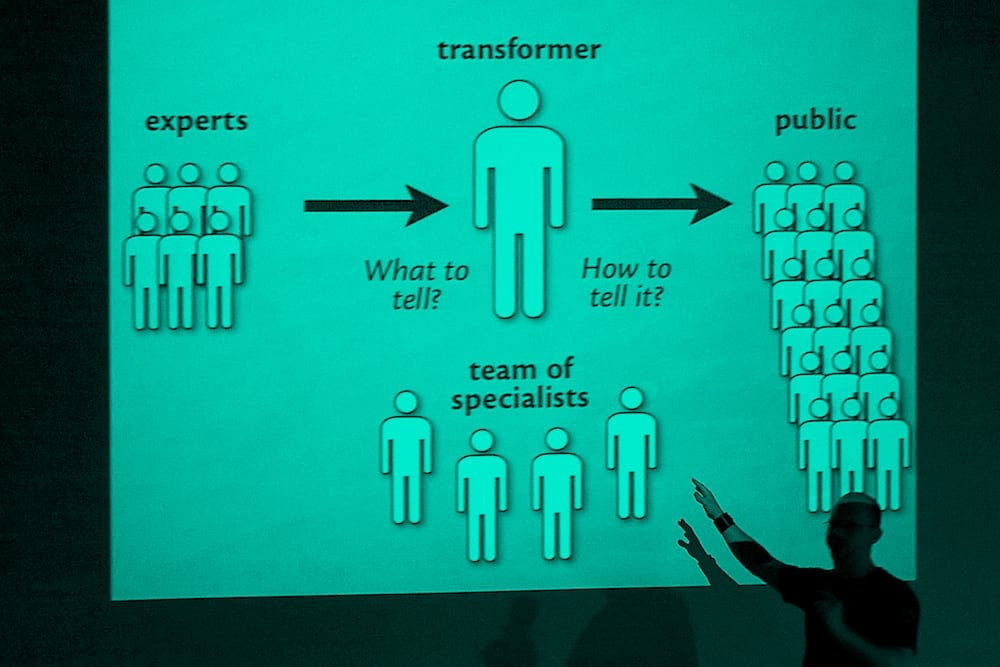 Infodesign workshop green - TypeTalks 3 [Brno, 6–7 září 2013]