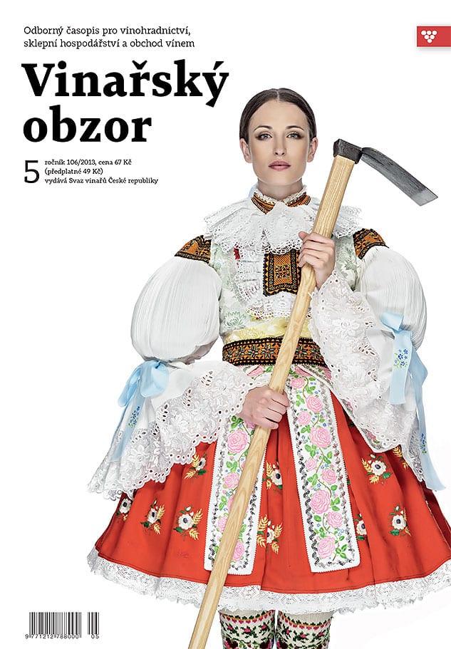 cover - Nové víno – redizajn časopisu Vinársky obzor