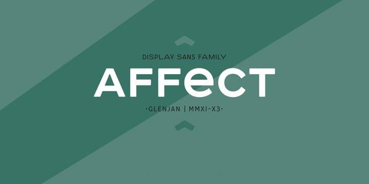 100410 - Font dňa – Affect (zľava 50%)