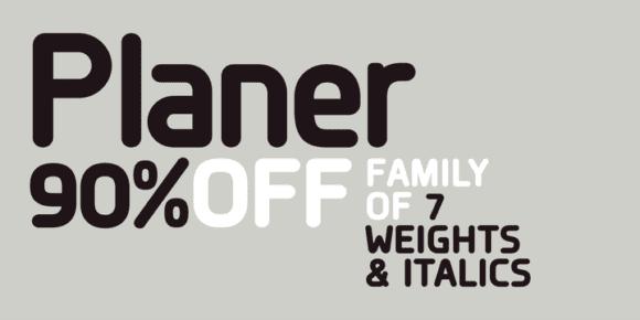 114219 580x290 - Font dňa – Planer (zľava 90%, od 0$, rodina 22,00$)