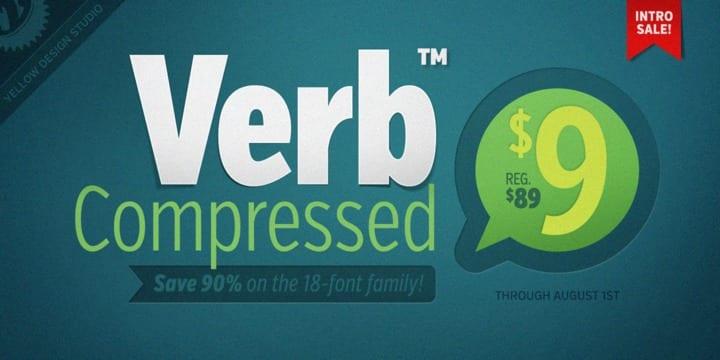 116891 - Font dňa – Verb Compressed (od 0$)
