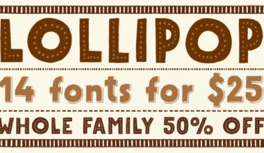 118140 380x220 - Font dňa – Mrs Lollipop (rodina 25,00$)