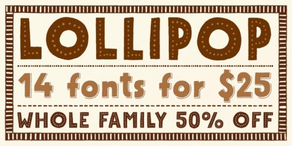 118140 580x290 - Font dňa – Mrs Lollipop (rodina 25,00$)