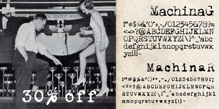 96038 - Font dňa – Machina (zľava 30%, 11,20$)