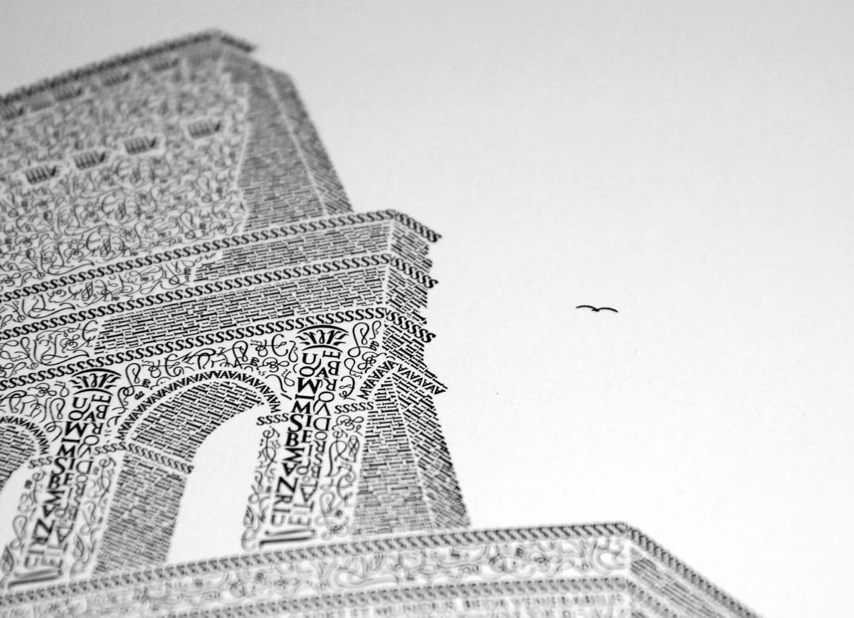 detail bird - Remeselník a detailista. Krátky príbeh Kolosea z písmen.