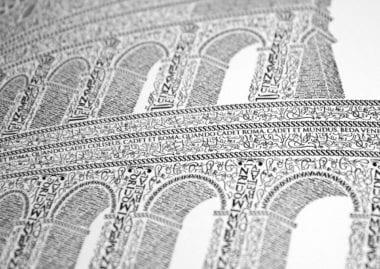 koloseum 380x269 - Remeselník a detailista. Krátky príbeh Kolosea z písmen.