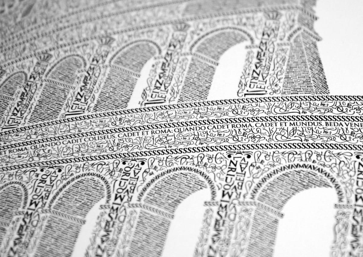 koloseum - Remeselník a detailista. Krátky príbeh Kolosea z písmen.