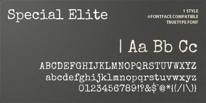 special elite