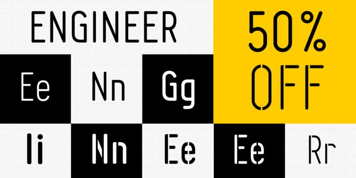 110476 - Font dňa – Engineer (od 7,50$, rodina 28,00$)