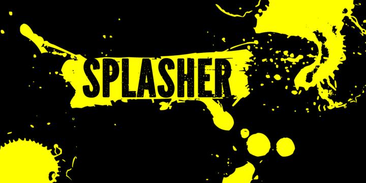 112092 - Font dňa – Splasher ($12.60)