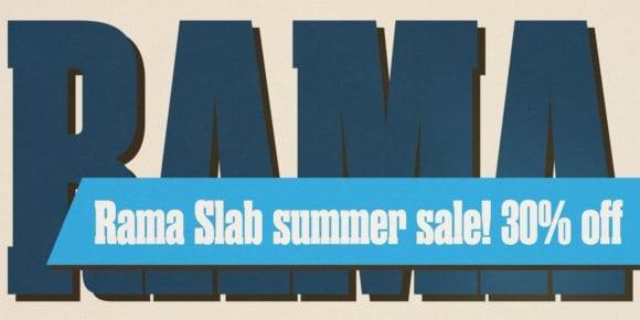 116649 580x290 - Font dňa – Rama Slab (zľava 30%, od 14,00$)