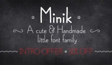 119685 380x220 - Font dňa – Minik (zľava 50%, od $8.00)