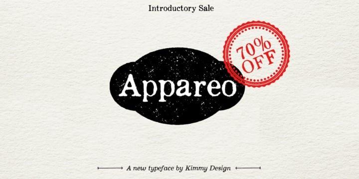 119933 - Font dňa – Appareo (zľava 70%, od 3,60$)